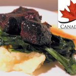 Chef Matt Kantor's Honey-Braised Short Ribs with Parsnip and Dandelion