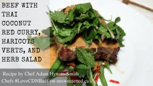 Adam Hynam-Smith's Steak with Red Curry