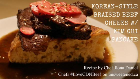 Chef Ilona Daniel's Braised Beef Cheeks
