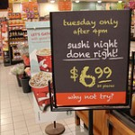 Longo&#8217;s: Tuesday&#8217;s Sushi