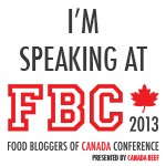 I'm Speaking at the Food Bloggers of Canada Conference