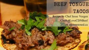 Jesse Vergen's Beef Tongue Tacos