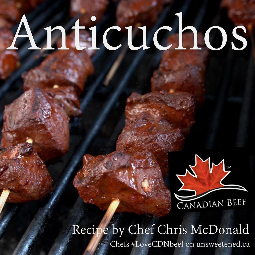 Chef Chris McDonald's Anticuchos