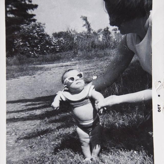 Lex in a bikini circa 1965