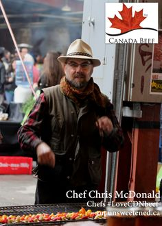 Chef Chris McDonald of Cava in Chefs LoveCDNBeef
