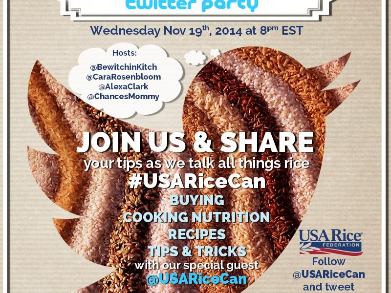 USARiceCan Twitter Party